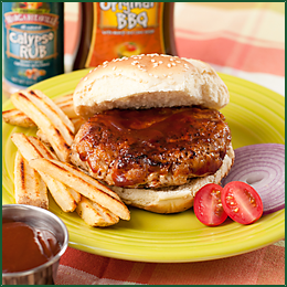 Calypso Turkey Burger